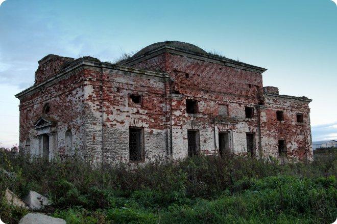 Церковь Николая Чудотворца в Шапши (70.18КиБ)